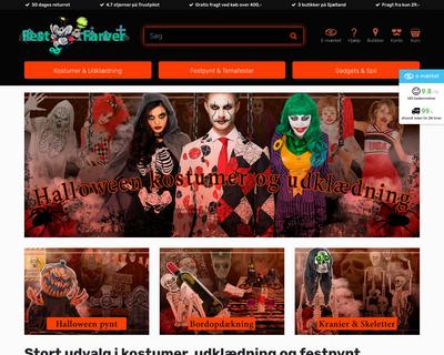 festogfarver.dk website