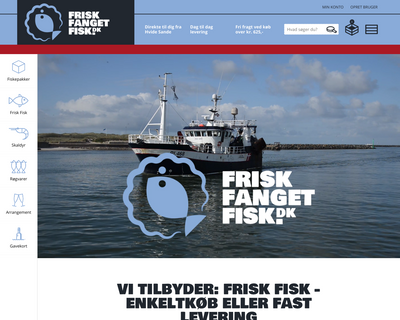 fish4you.dk website