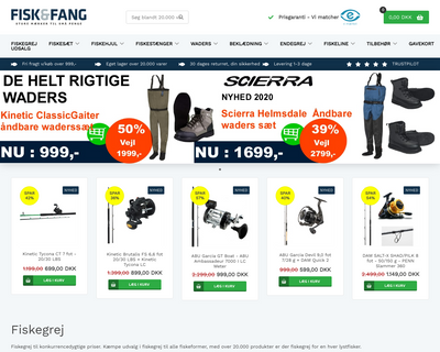 fiskogfang.dk website