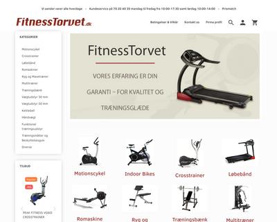 fitnesstorvet.dk website