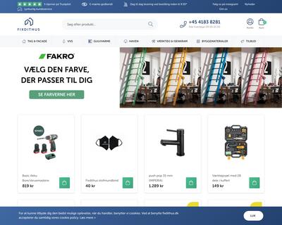 fixdithus.dk website