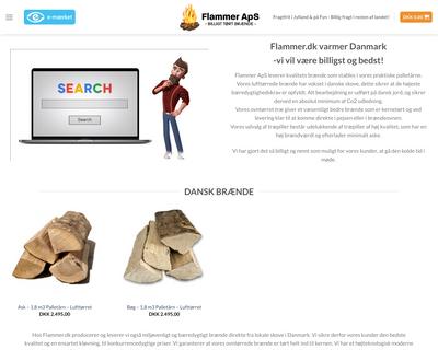 flammer.dk website