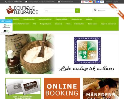 fleurance.dk website