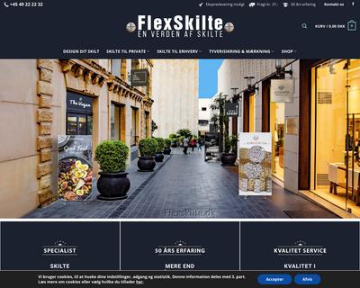 flexskilte.dk website