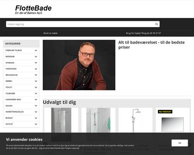 flottebade.dk website