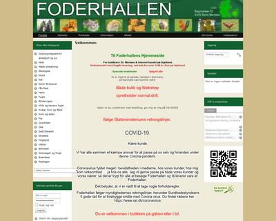 foderhallen.dk website
