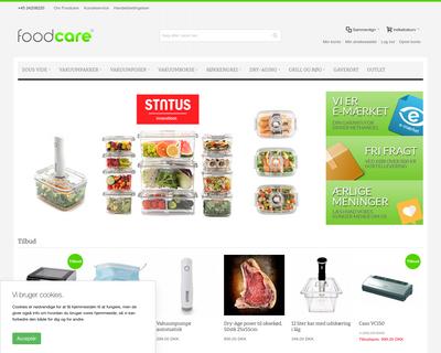foodcare.dk website
