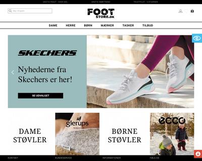 footstore.dk website