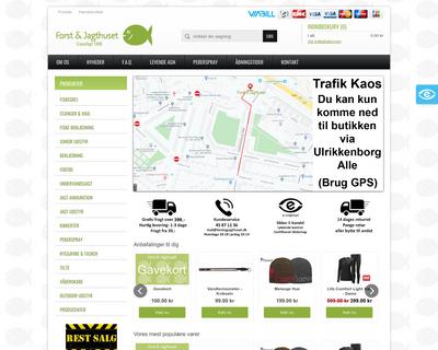 forstogjagthuset.dk website