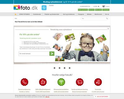 foto.dk website