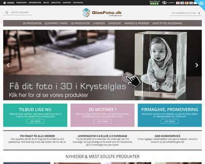 laserfoto.dk website