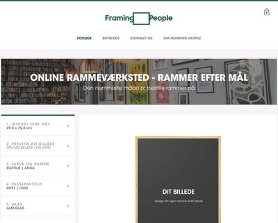 framingpeople.com website
