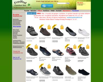 fredfod.dk website