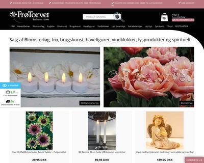 froetorvet.dk website