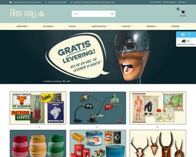 frou-frou.dk website