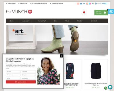 frumunch.dk website