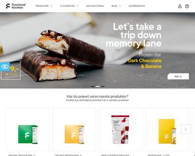 functionalnutrition.dk website