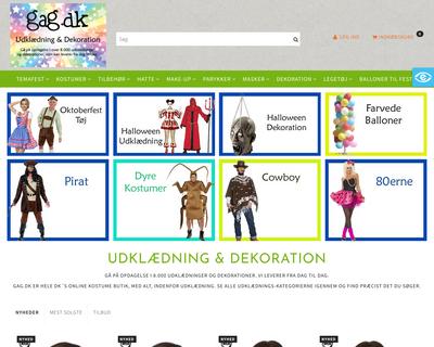 gag.dk website