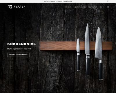 gastrotools.dk website