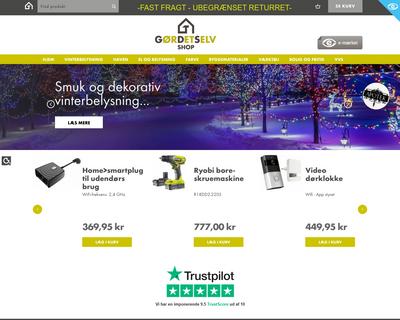 gds-shop.dk website