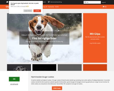 gilpa.dk website