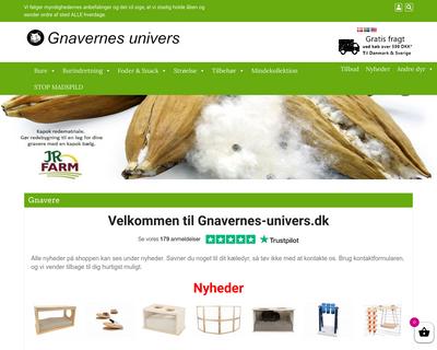 gnavernes-univers.dk website