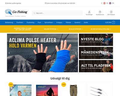 www.go-fishing.dk website
