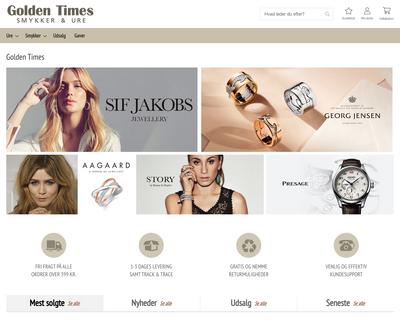 goldentimes.dk website