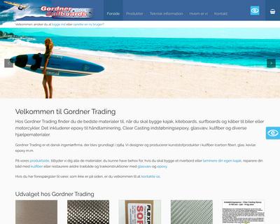 gordner.dk website