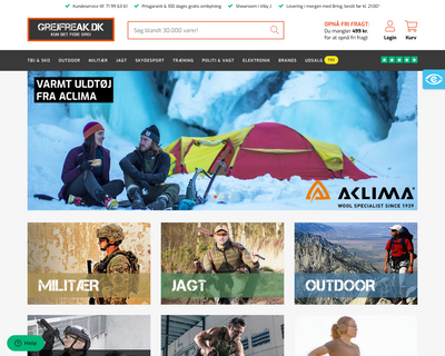 grejfreak.dk website