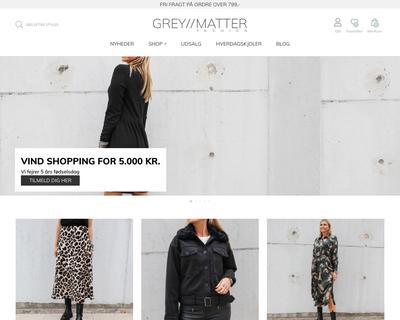 greymatter.dk website