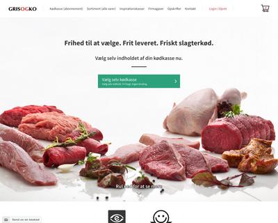 grisogko.dk website
