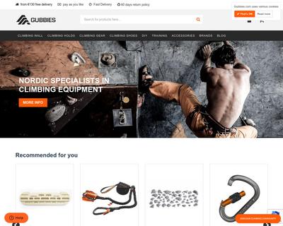 www.gubbies.com website