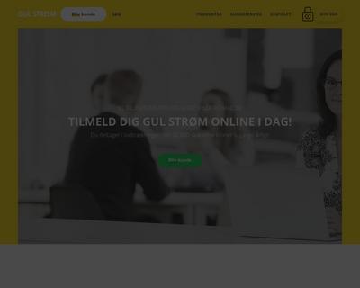 gulstrom.dk website