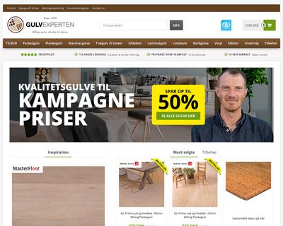 gulvexperten.com website
