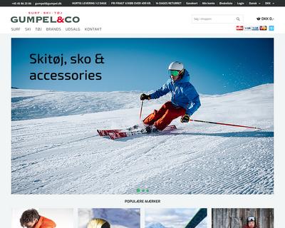 gumpel.dk website