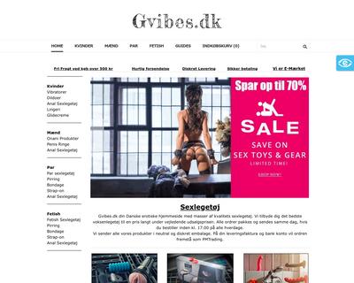 gvibes.dk website