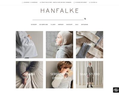 hanfalke.dk website