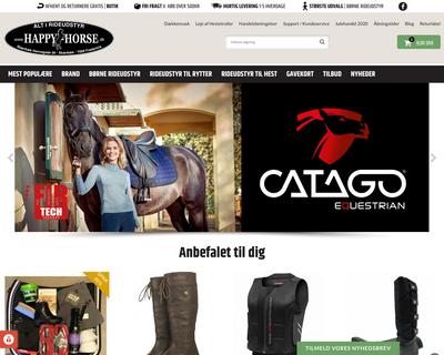 happy-horse.dk website