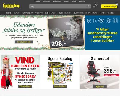 www.harald-nyborg.dk website