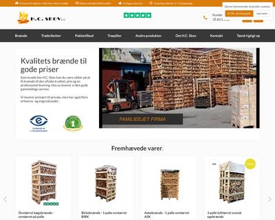 hcskov.dk website