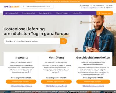 healthexpress.eu website