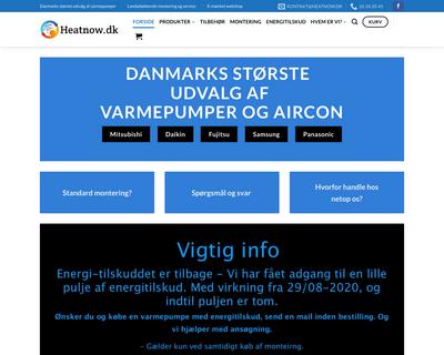 heatnow.dk website