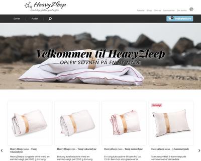 heavyzleep.dk website
