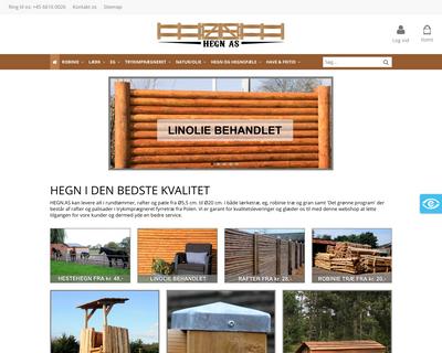 hegn.as website
