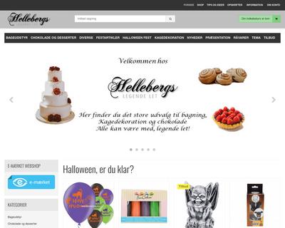hellebergskager.dk website