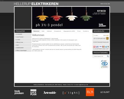 hellerup-el.dk website