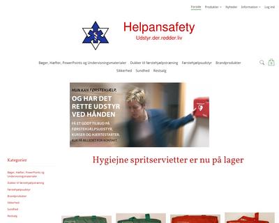 helpansafety.dk website