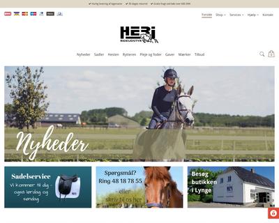 heri.dk website