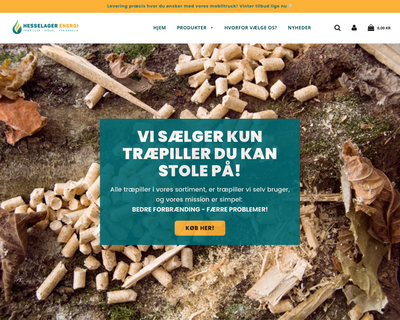hesselagerenergi.dk website